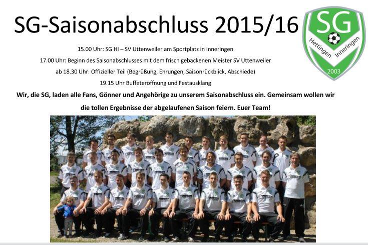 Saisonabschluss 2015-16